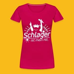 Schlager Hit - Frauen Premium T-Shirt