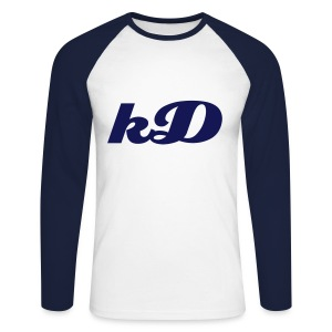 kD longsleeve - Men's Long Sleeve Baseball T-Shirt