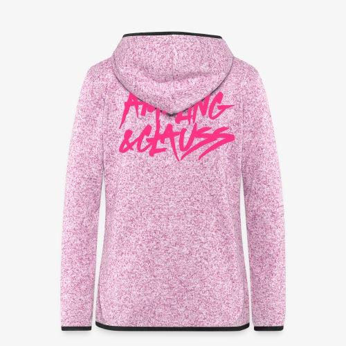 Ameling & Glauss Zipper FLEECE Güürlz - Frauen Kapuzen-Fleecejacke