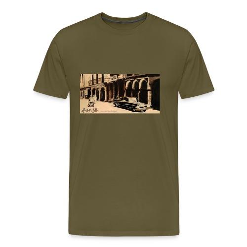 Nostalgie-Auto - Männer Premium T-Shirt