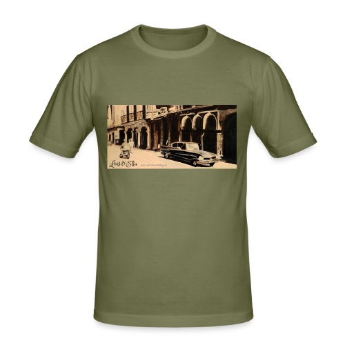 Nostalgie-Auto - Männer Slim Fit T-Shirt