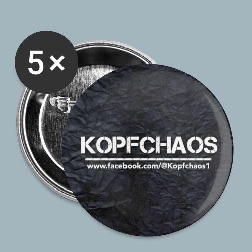 Kopfchaos Banner - Buttons klein 25 mm