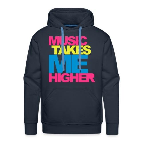 Music take me higher hoodie - Men's Premium Hoodie