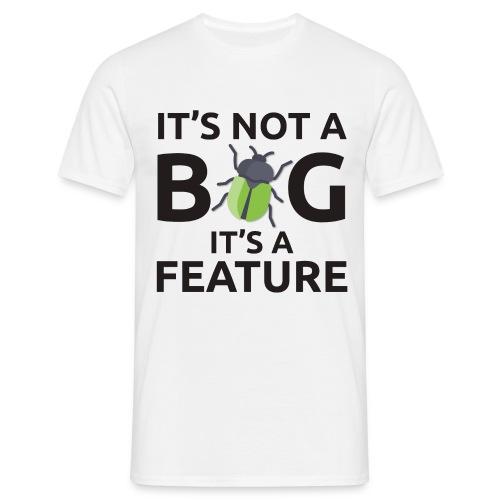 T shirt bug programmatore - Maglietta da uomo