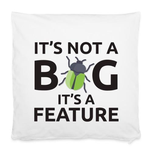 Cuscino programmatore bug - Copricuscino 40 x 40 cm