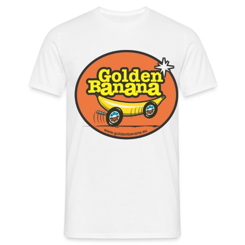 T Shirt Golden Banana - T-shirt Homme