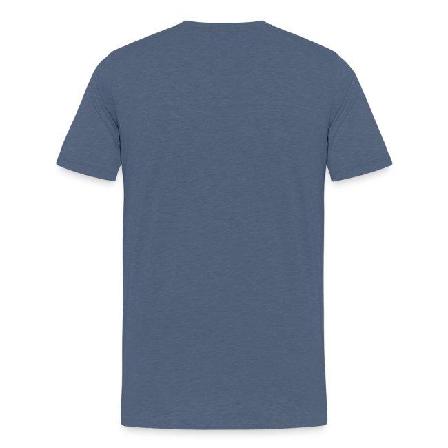 T-shirt homme (bleu chiné)