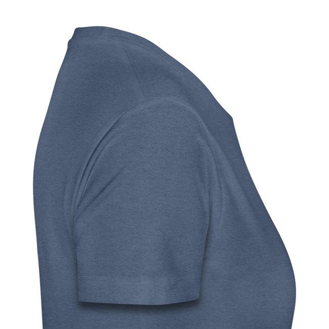 T-shirt femme (bleu chiné)