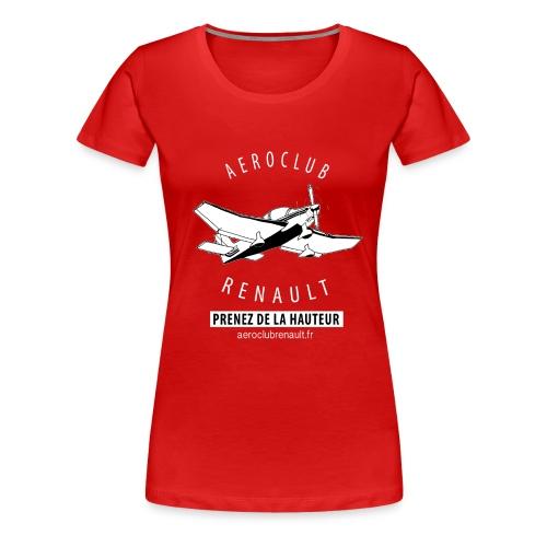 T-shirt femme (rouge) - T-shirt Premium Femme