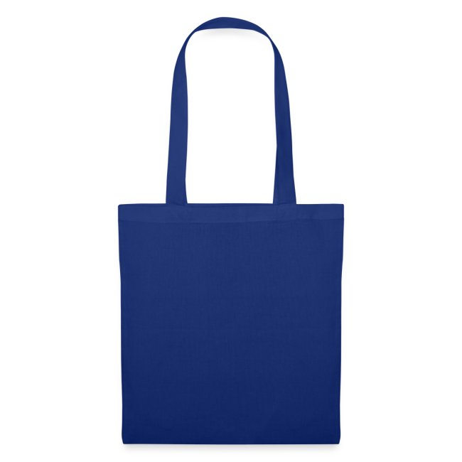 Tote bag (bleu royal)