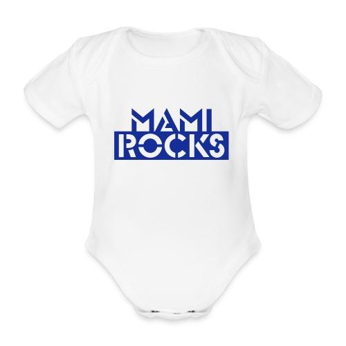 Mami baby grow - Organic Short-sleeved Baby Bodysuit