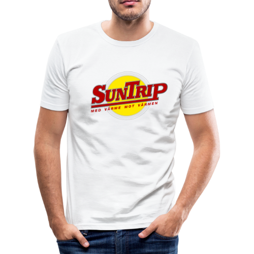 T-shirt slim fit, SunTrip - Slim Fit T-shirt herr