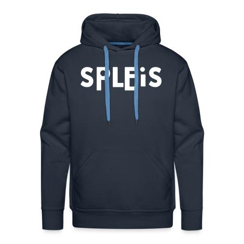 blå hoodie - Premium hettegenser for menn