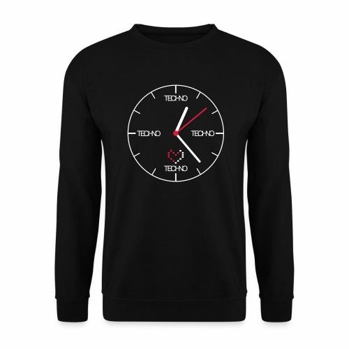 Techno Time - Pullover - Männer Pullover