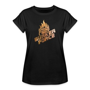 Bunkerforce#Medal - Frauen Oversize T-Shirt