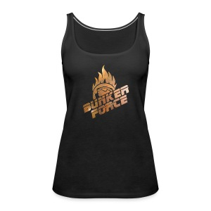 Bunkerforce#Medal - Frauen Premium Tank Top