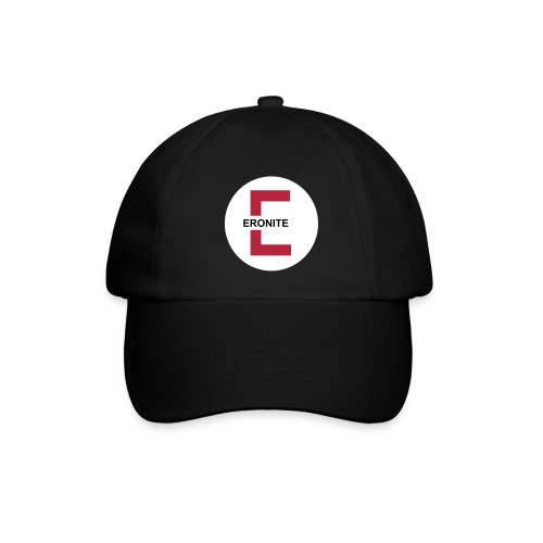 Eronite-Basecap schwarz - Baseballkappe