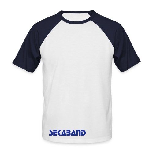 SEKA STOP/FONT - Men's Baseball T-Shirt