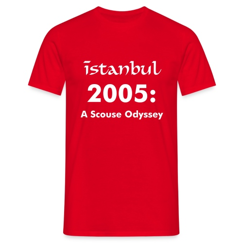 Scouse Odyssey - Red T  - Men's T-Shirt