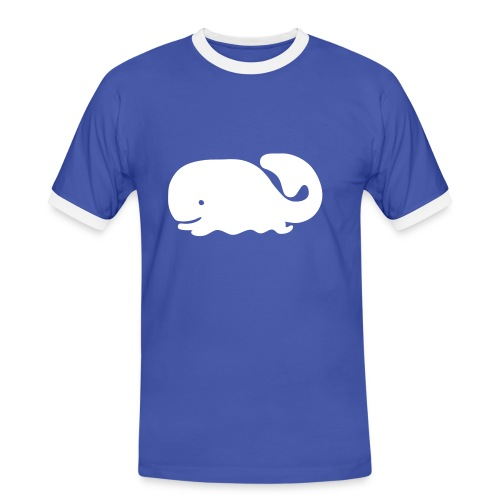 Moby Dick - Mannen contrastshirt