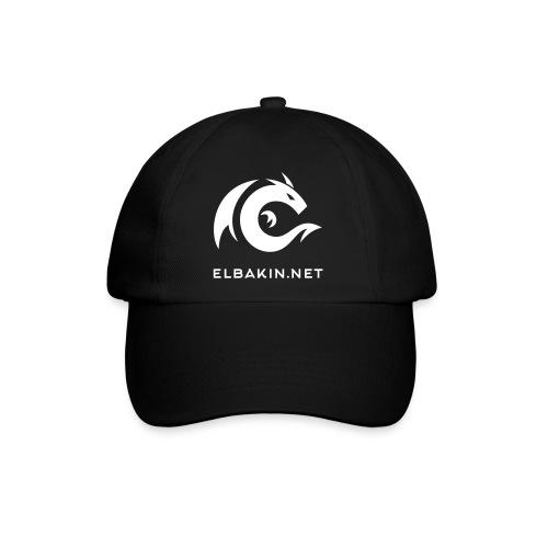 Casquette noire logo blanc - Casquette classique