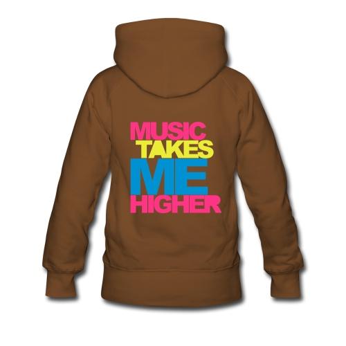 hip hop lady - Sweat-shirt à capuche Premium pour femmes