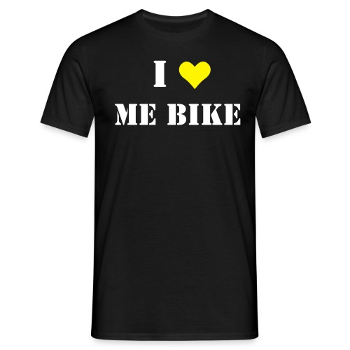 I heart me bike - Men's T-Shirt