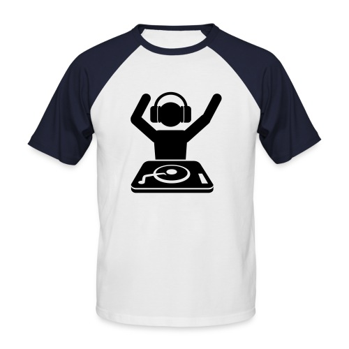 dj baby - T-shirt baseball manches courtes Homme