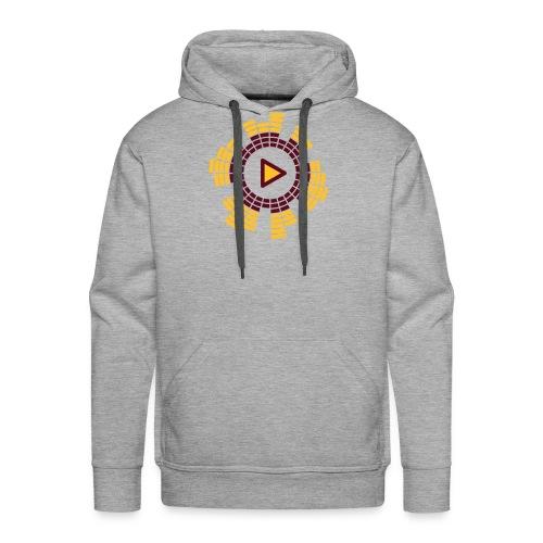 play one - Sweat-shirt à capuche Premium pour hommes