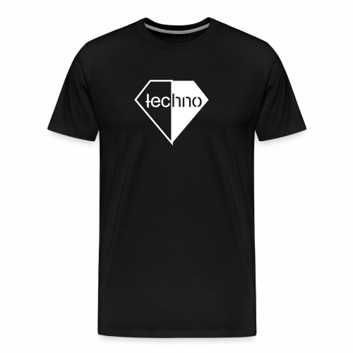 Diamond Techno - T-Shirt - Männer Premium T-Shirt