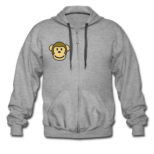 monkey street - Veste à capuche Premium Homme