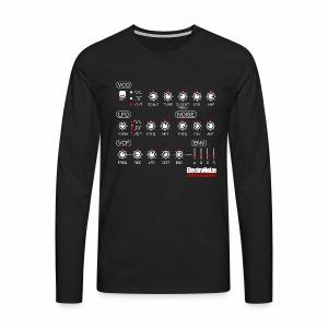 ElectroNoize Synthesizer 1 - langarm Shirt - Männer Premium Langarmshirt