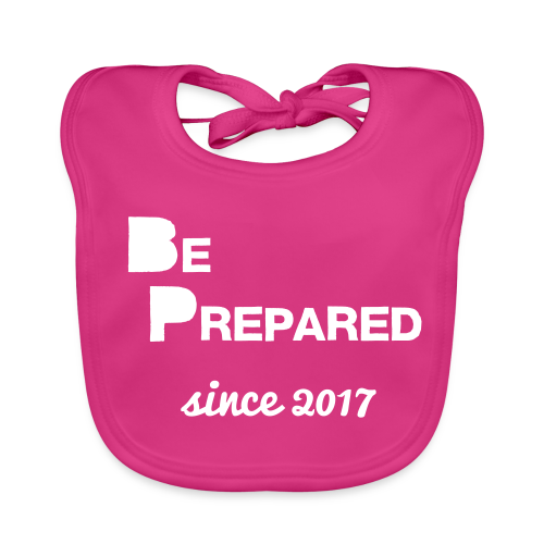 Be Prepared - Baby Organic Bib