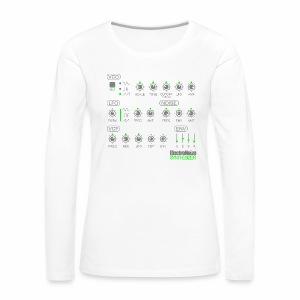ElectroNoize Synthesizer 2 - langarm Shirt - Frauen Premium Langarmshirt