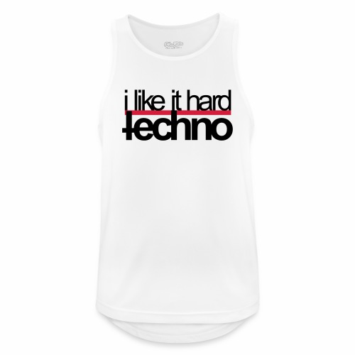 i like it hard - Tanktop - Männer Tank Top atmungsaktiv