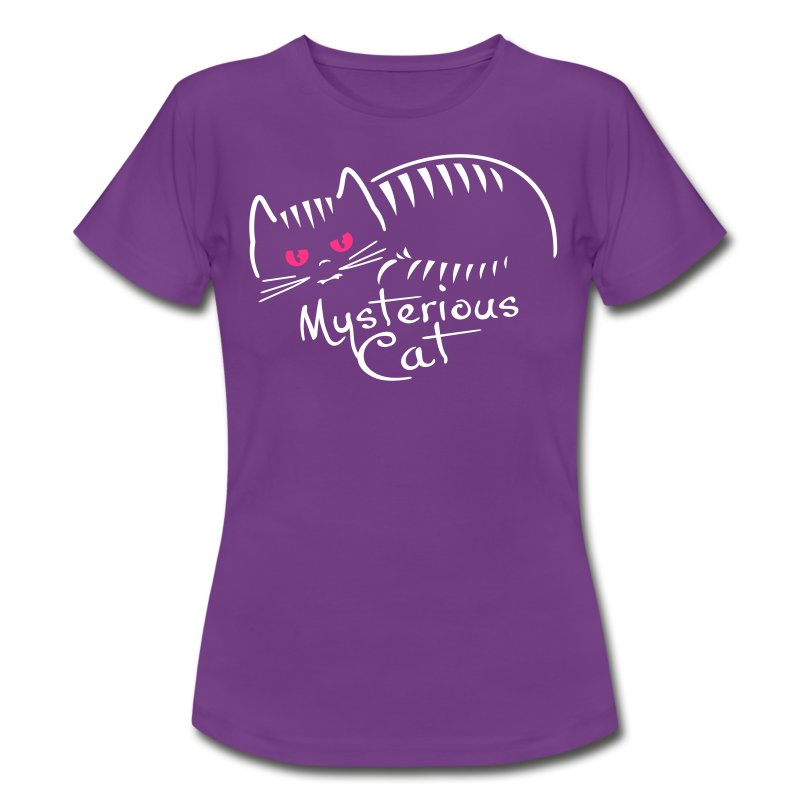 mysterious cat - Frauen T-Shirt