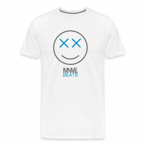 MNML Beats Smiley - T-Shirt - Männer Premium T-Shirt
