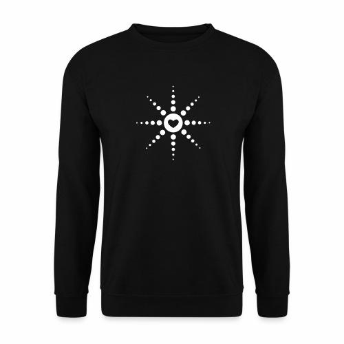 Techno is Love - Pullover - Männer Pullover