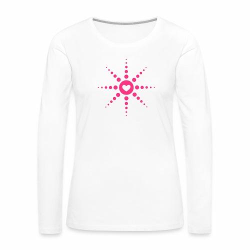 Techno is Love - langarm Shirt - Frauen Premium Langarmshirt