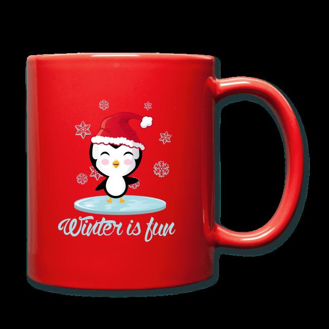 Mug Pingouin Noël
