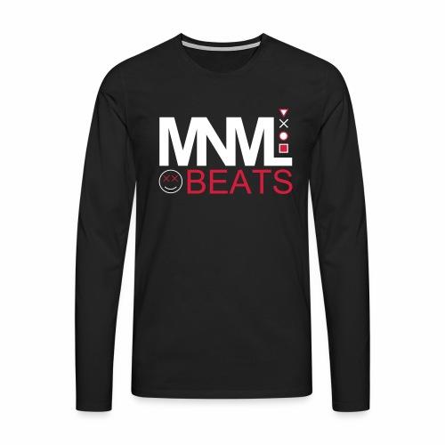 MNML Beats - langarm Shirt - Männer Premium Langarmshirt