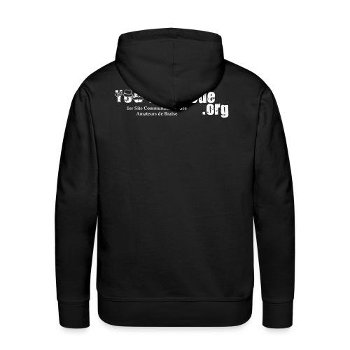 Sweat-shirt capuche homme - Sweat-shirt à capuche Premium pour hommes