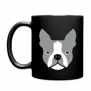 Boston Terrier - Enfärgad mugg