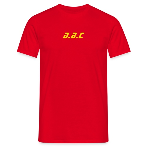 DBC 1972 RED - T-shirt Homme
