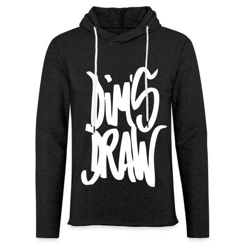 DimsDraw Grey - Sweat-shirt à capuche léger unisexe