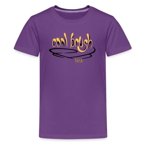 Brush - Teenager Premium T-Shirt