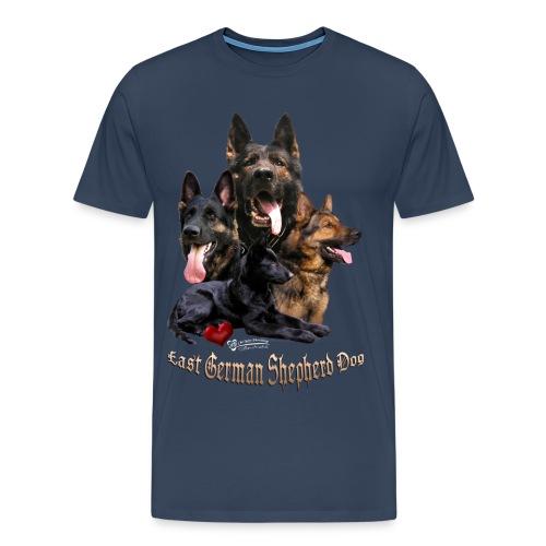 DDR Schäferhunde - Männer Premium T-Shirt