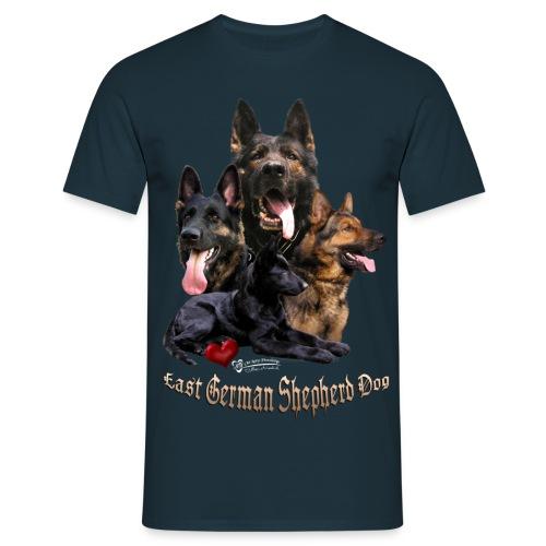 DDR-Schäferhunde - Männer T-Shirt