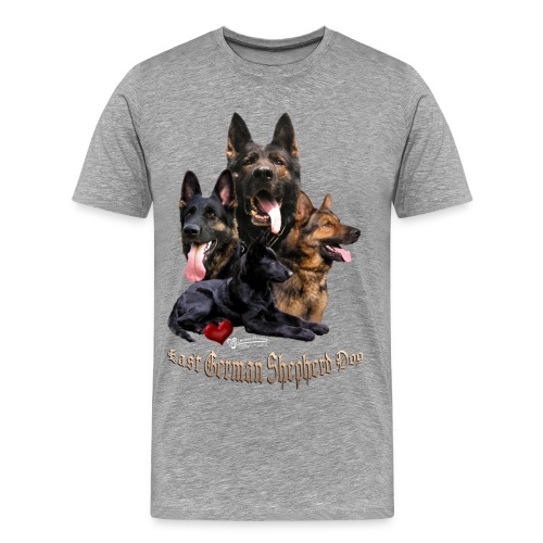 DDR-Schäferhunde - Männer Premium T-Shirt