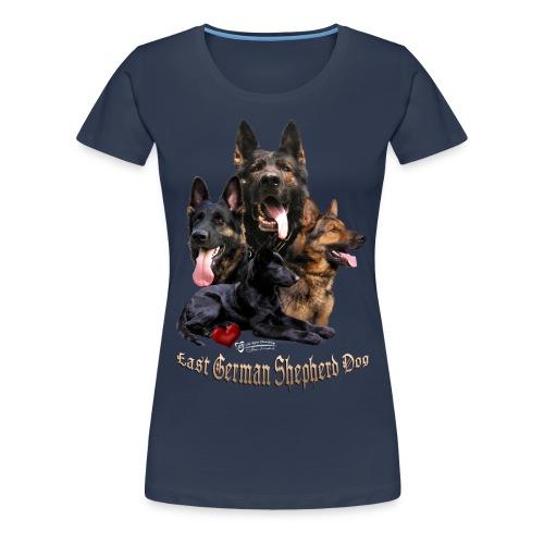 DDR-Schäferhunde - Frauen Premium T-Shirt